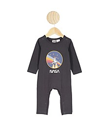 Baby Boy and Girl The Long Sleeve Snap Romper