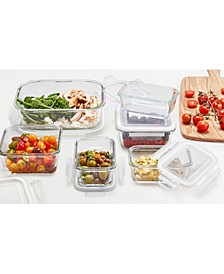 12-Pc. Glass Food Storage Set, Created for Macy's
