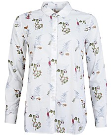 Ingham Nature Print Shirt