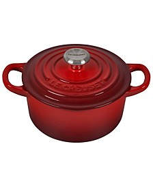 1-Qt. Signature Enameled Cast Iron Round Dutch Oven
