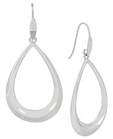 Open Teardrop Statement Earrings