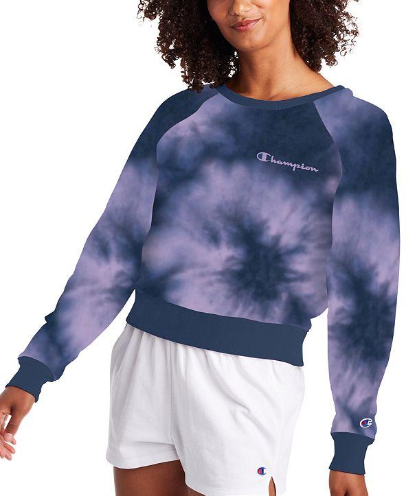 Champion Plus Size Tie-Dyed Sweatshirt