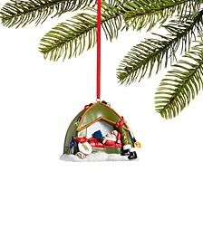 All About You, Santa Camping Ornament, Created for Macy's