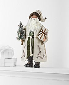 Birds & Boughs, Jolly Santa with Tree & Gift, Created for Macy's