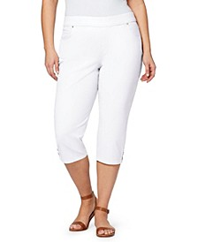 Women's Plus Size Avery Pull On Capri