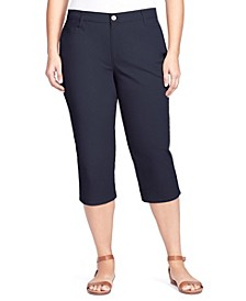 Women's Plus Size Amanda Trouser Capri