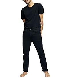 Men's Tapered Leg Denim Jeans