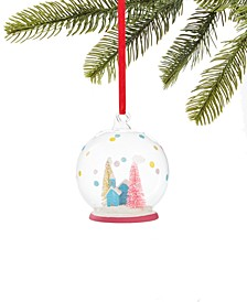 Merry & Brightest Glass Dome with House and Tree Inside, Created for Macy's