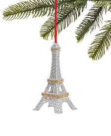 Fashion Week, Glitter Eiffel Tower Ornament, Created for Macy's