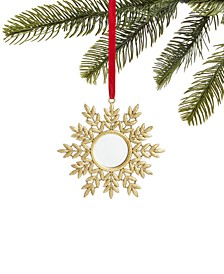 Evergreen Dreams,  Golden Leaf Mirror Ornament, Created for Macy's