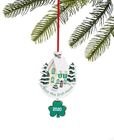 Irish house 2020 Ornament, Created for Macy's