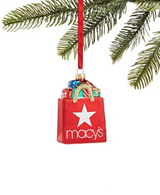 Macy's Shopping Bag Ornament, Created for Macy's