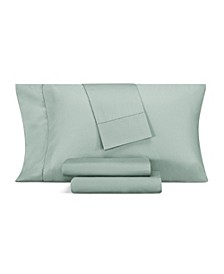 1000 Thread Count CVC Blend Hemstitch Queen 4-Pc. Sheet Set