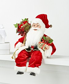 Seated Santa in Red, Created for Macy's
