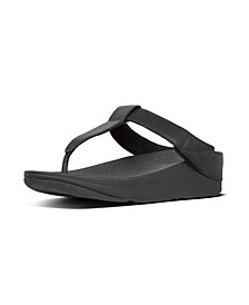 Women's Mina Leather Toe-Thongs Sandal