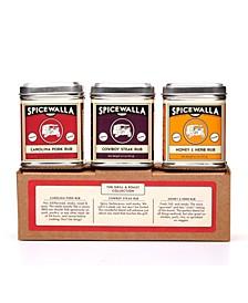 Grill Seasoning 3 Pack Big Tins Seasonings and Rubs Spices Set