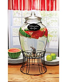 Empire Dispenser with Glass Lid, 2.7 Gal