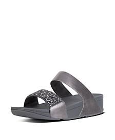 Women's Sparklie Crystal Slide Sandal