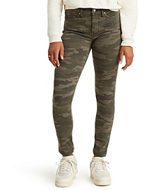 311 Camo-Print Shaping Skinny Jeans