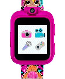 Kid's LOL Surprise! O.M.G. PlayZoom Fuchsia TPU Strap Touchscreen Smart Watch 52x42mm