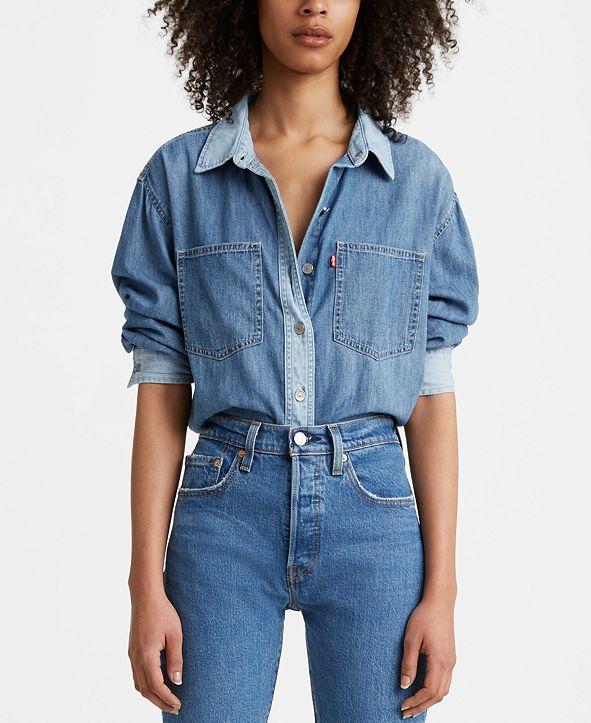 Levi's Maple Cotton Denim Utility Shirt