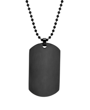 Men's Large Stainless Steel Dog Tag