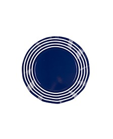 Striped Wavy Dinner Plate, Pack of 16