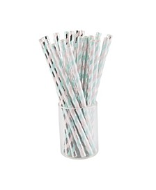 SugarPlum Party Confection Cocktail Straw, Pack of 50