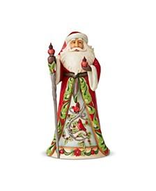 Santa with Cardinal