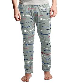 Men's Logo-Print Pajama Pants