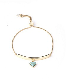Hope Heart Slider Bracelet