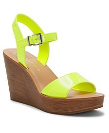 Miercen Platform Wedge Sandals