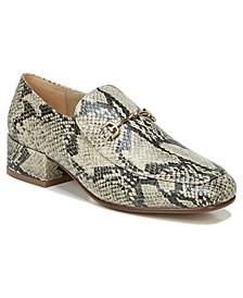 Jamille Block-Heel Loafers