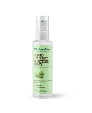 NatureWell Gel Hand Sanitizer Spray, 2 oz
