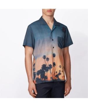 Boss Men's Rhythm Photographic Print Shirt