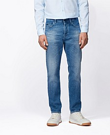 BOSS Men's Taber BC Tapered-Fit Jeans