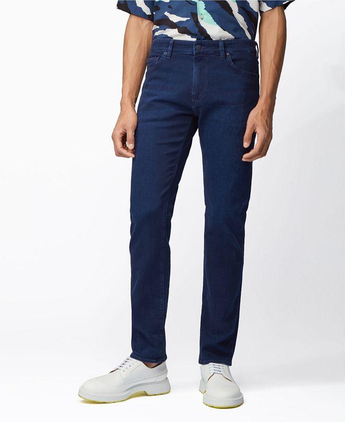 Hugo Boss - Men's Maine Regular-Fit Jeans