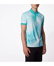 BOSS Men's Gradient Print Polo Shirt