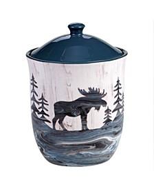 Fluidity Lodge Biscotti Jar