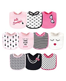 Baby Girls Bibs Pack of 10