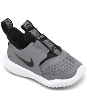 Nike TODDLER BOYS FLEX RUNNER SLIP-ON ATHLETIC SNEAKERS FROM FINISH LINE