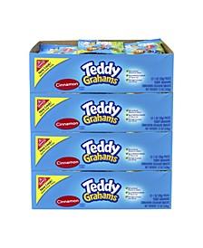 Teddy Graham Nabisco Honey Maid Teddy Graham Snacks Cinnamon, 1 oz, 48 Count
