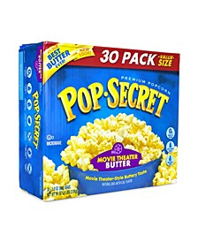 Premium Popcorn Movie Theater Butter, 3 oz, 30 Count