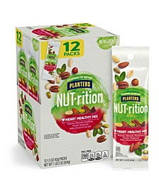 Nut-Rition Heart Healthy Nut Mix, 1.5 oz, 12 Count