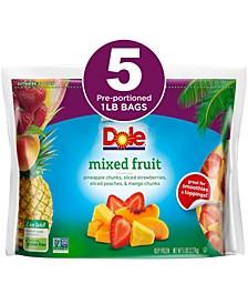 Frozen Mixed Fruit, 1 lbs, 5 Pack