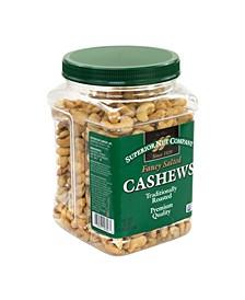 Fancy Salted Roasted Cashews Nut Mix, 30 oz
