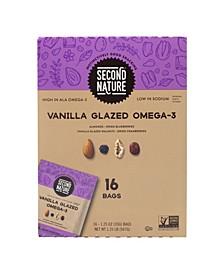 Vanilla Glazed Omega-3 Dried Fruit Nut Mix, 1.25 oz, 16 Count