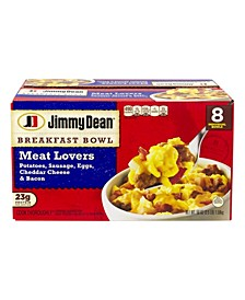 Breakfast Bowl Meat Lovers, 8 Count