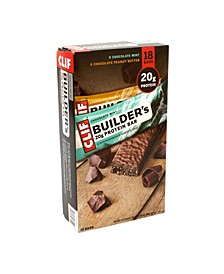 Company Clif Builder's 20 Gram Protein Bar Variety Pack, 2.4 oz, 18 Count