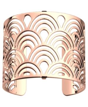 Loop Openwork Wide Adjustable Cuff Poisson Bracelet